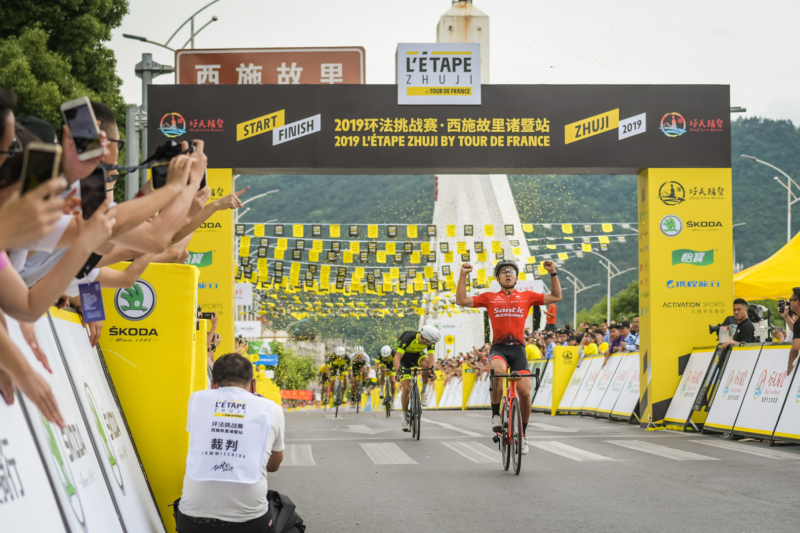 L'Étape Zhuji by Tour de France 2019 (China)