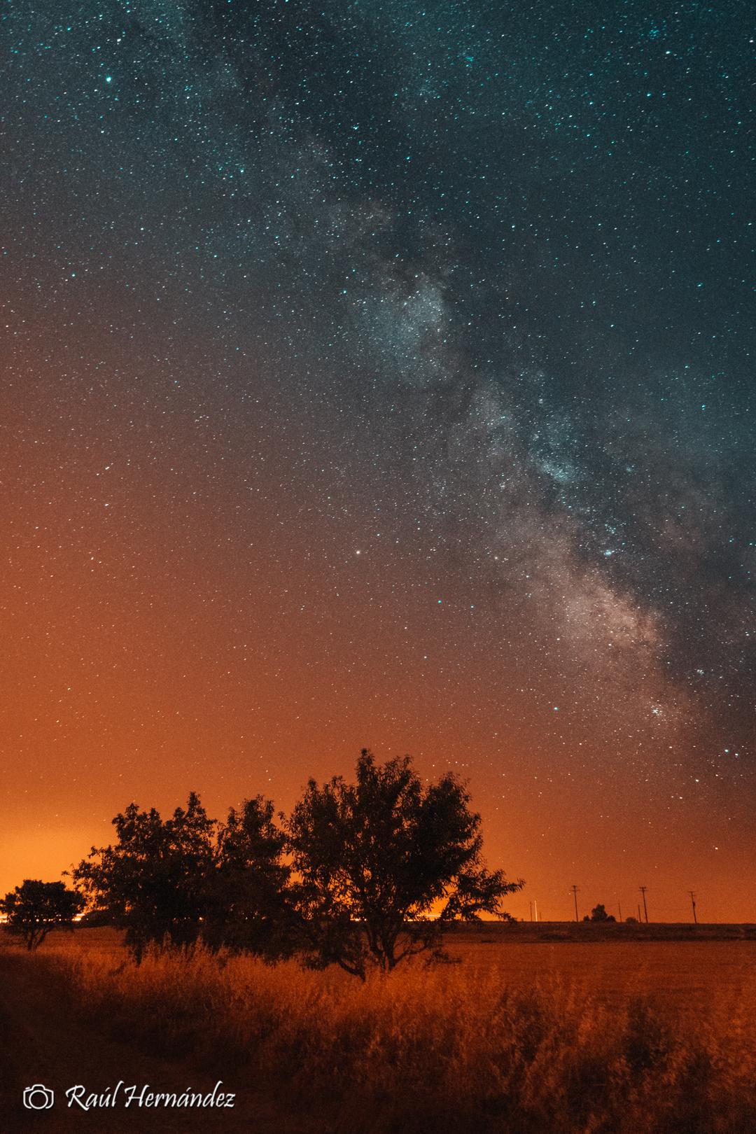 Milky fire